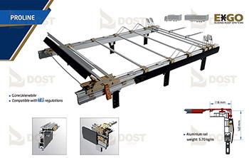 EXGO Kayar Çatı Sistemi - Proline