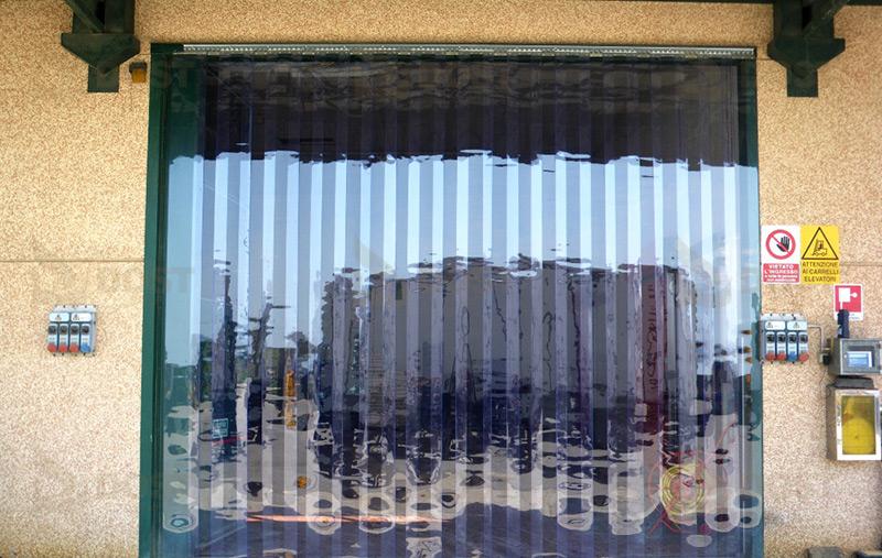 Fabrika Giriş Şerit Tente