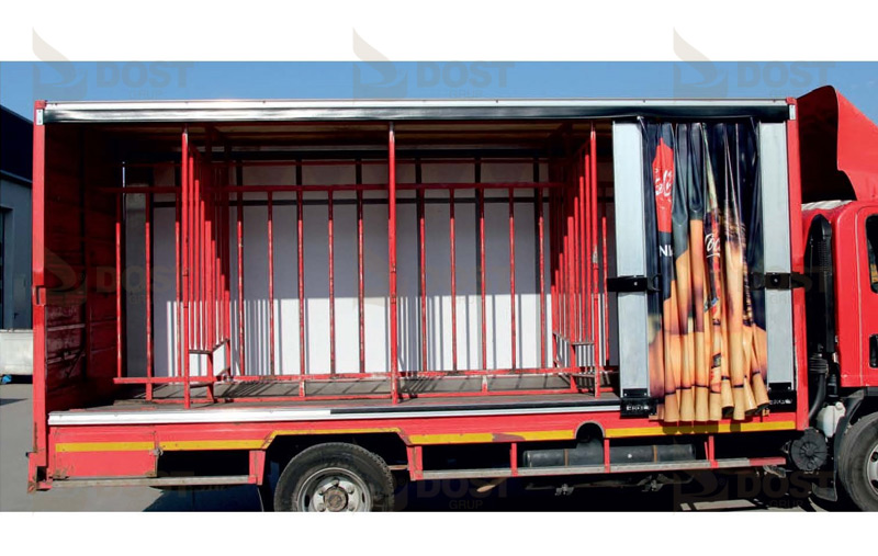 High & Speed Curtain Systems Opened Right