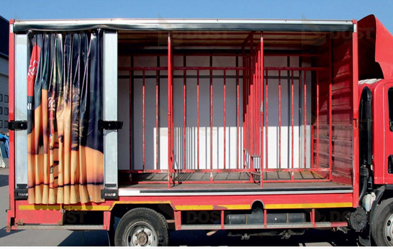 High & Speed Curtain Systems Opened Left