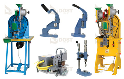 Kuşgözü - Kapsül - Oval - Balıkgözü Danagözü Manuel ve Otomatik Çakma Makinaları