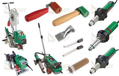 Leister Yapıştırma Makinaları ve Yedek Parçaları - Aksesuarları