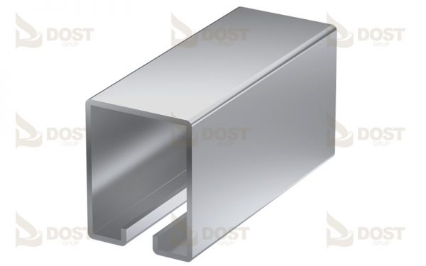 Pillar Rail Zinc Plated 2.60 kg/m