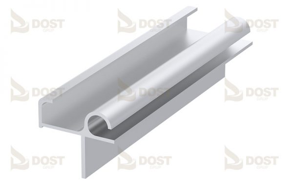 Rain Protection Rail For Sliding Roof Systems 1.07 kg/m