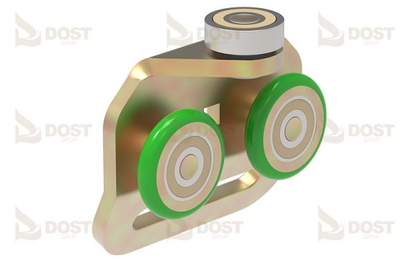 Roller Double Single & Sided,Trike With Ball Bearing With 50 mm Slot