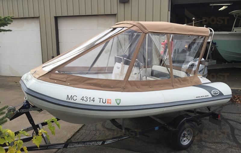 Şeffaf PVC Zodiac Tekne